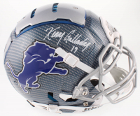Kenny Golladay Signed Lions Full-Size Authentic On-Field Hydro-Dipped F7 Helmet (JSA COA) at PristineAuction.com