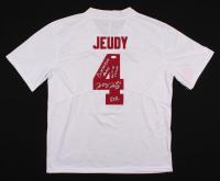 "Jerry Jeudy Signed Alabama Crimson Tide Jersey Inscribed ""Biletnikoff Award"", ""RTR"" & ""2017-18 Champs"" (JSA COA) at PristineAuction.com"