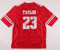 Jonathan Taylor Signed Wisconsin Badgers Jersey with (7) Inscriptions (JSA COA) at PristineAuction.com