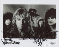 Great White 8x10 Photo Band-Signed by (5) with Mark Kendall, Audie Desbrow, Jack Russell, Michael Lardie (JSA COA) at PristineAuction.com