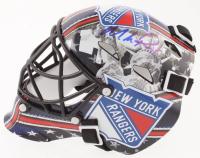 Mike Richter Signed Rangers Mini Goalie Mask (JSA COA) at PristineAuction.com