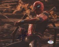 "Tom Holland Signed ""Spider-Man"" 8x10 Photo (PSA COA) at PristineAuction.com"