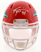 Ricky Williams Signed Dolphins AMP Alternate Speed Mini Helmet (JSA COA) at PristineAuction.com