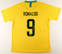 Ronaldo Signed Team Brazil Jersey (Beckett COA) at PristineAuction.com