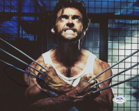 "Hugh Jackman Signed ""Wolverine"" 8x10 Photo (PSA COA) at PristineAuction.com"