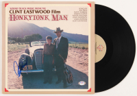 "Clint Eastwood Signed ""Honkytonk Man"" Soundtrack Vinyl Record Album (PSA COA) at PristineAuction.com"