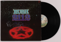 "Geddy Lee & Alex Lifeson Signed ""2112"" Vinyl Record Album (Beckett LOA) at PristineAuction.com"