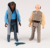 "Lot of (2) ""Star Wars: Empire Strikes Back"" 1980 Original Kenner Action Figures with Lando Calrissian & Lobot at PristineAuction.com"
