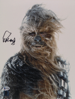 "Peter Mayhew Signed ""Star Wars"" 11x14 Photo (Beckett COA & Chewbacca Hologram) at PristineAuction.com"