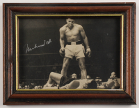 Muhammad Ali Signed 6.75x8.5 Custom Framed Photo Display (JSA ALOA) at PristineAuction.com