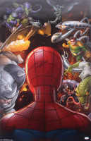 "Tom Holland Signed ""Spider Man"" 22.5x34 Poster (JSA COA) at PristineAuction.com"