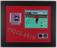 """Mike Tyson Signed """"Punch-Out!!"""" 19.5x23.5 Custom Framed Photo Display (Fiterman Sports Hologram) at PristineAuction.com"""