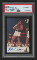 Muhammad Ali 1992 Classic World Class Athletes #AU34 (PSA Encapsulated) at PristineAuction.com