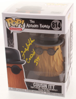 "Felix Silla Signed ""The Addams Family"" - Cousin Itt #814 Funko Pop! Vinyl Figure Inscribed ""Cousin Itt"" (JSA COA) at PristineAuction.com"
