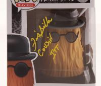 "Felix Silla Signed ""The Addams Family"" - Cousin Itt #814 Funko Pop! Vinyl Figure Inscribed ""Cousin Itt"" (JSA COA) at PristineAuction.com"