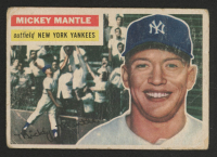 Mickey Mantle 1956 Topps #135 at PristineAuction.com