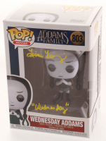 "Lisa Loring Signed ""The Addams Family"" - Wednesday Addams #803 Funko Pop! Vinyl Figure Inscribed ""Wednesday"" (JSA COA) at PristineAuction.com"