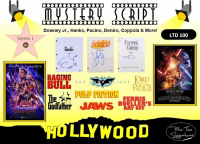Hollywood Script Mystery Box - Series 1 at PristineAuction.com