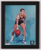 Rick Barry Signed Warriors 9x11 Custom Framed Photo Display (Mounted Memories Hologram) at PristineAuction.com