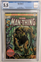 "1974 ""The Man-Thing"" Issue #1 Marvel Comic Book (CGC 5.5) at PristineAuction.com"