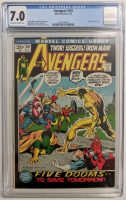 """1972 """"The Avengers"""" Issue #101 Marvel Comic Book (CGC 7.0) at PristineAuction.com"""