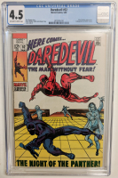 "1969 ""Daredevil"" Issue #52 Marvel Comic Book (CGC 4.5) at PristineAuction.com"