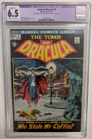 """1972 """"The Tomb of Dracula"""" Issue #2 Marvel Comic Book (CGC Restored - 6.5) at PristineAuction.com"""