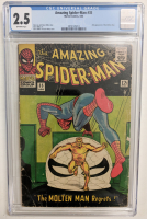 """1966 """"The Amazing Spider-Man"""" Issue #35 Marvel Comic Book (CGC 2.5) at PristineAuction.com"""