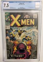 "1966 ""X-Men"" Issue #25 Marvel Comic Book (CGC 7.5) at PristineAuction.com"