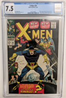 "1967 ""X-Men"" Issue #39 Marvel Comic Book (CGC 7.5) at PristineAuction.com"