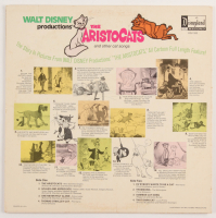 "Original 1970 Walt Disney's ""The Aristocats"" LP Vinyl Disneyland Record Album Soundtrack at PristineAuction.com"