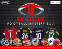 Press Pass Collectibles Full Size Football Helmet Trifecta Mystery Box – Series 1 (Limited to 50) at PristineAuction.com