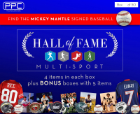 PPC 2020 Multi-Sport Hall of Fame Mystery Box - Series 1 (Limited to 50) at PristineAuction.com