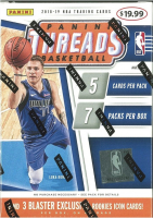 2018/19 Panini Threads Basketball Blaster Box of (7) Packs at PristineAuction.com