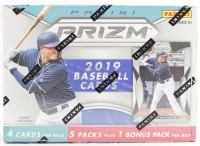 2019 Panini Prizm Baseball Blaster Box of (6) Packs at PristineAuction.com
