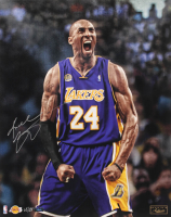 Kobe Bryant Signed LE Lakers 16x20 Photo (Panini COA) at PristineAuction.com
