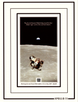 "Apollo 11 ""Orbiting the Moon"" 6x8 Photo with Metal Shavings from Spacecraft (The Zone COA) at PristineAuction.com"