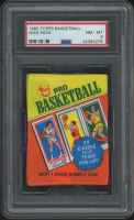 1980 Topps Basketball Unopened Wax Pack (PSA 8) at PristineAuction.com