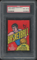 1974 Topps Basketball Unopened Wax Pack (PSA 8) at PristineAuction.com