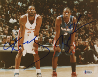 Kobe Bryant & Dwayne Wade Signed All-Star Game 8x10 Photo (Beckett LOA) at PristineAuction.com