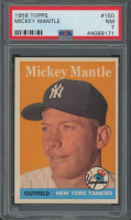 Mickey Mantle 1958 Topps #150 (PSA 7) at PristineAuction.com