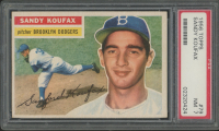 Sandy Koufax 1956 Topps #79 (PSA 7) at PristineAuction.com