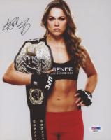 Ronda Rousey Signed UFC 8x10 Photo (PSA COA) at PristineAuction.com