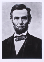 """Historical Photo Archive - Abraham Lincoln """"Gettysburg Portrait"""" Limited Edition 16x22 Fine Art Giclee on Paper #12 / 375 (PA LOA) at PristineAuction.com"""