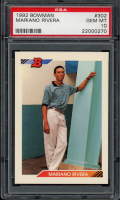 Mariano Rivera 1992 Bowman #302 RC (PSA 10) at PristineAuction.com