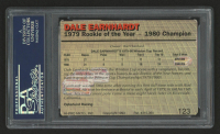 Dale Earnhardt Signed 1993 Action Packed #123 BB (PSA Encapsulated) at PristineAuction.com