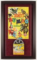 """Dumbo"" 17x28.5 Custom Framed Print Display with Vintage 8mm Film Reel at PristineAuction.com"
