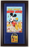 """Mickey Mouse in Gulliver Mickey"" 16x26.5 Custom Framed Print Display with Vintage 8mm Film Reel at PristineAuction.com"