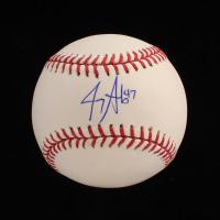 Jerry Sands Signed OML Baseball (PSA COA) at PristineAuction.com