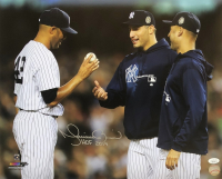 "Mariano Rivera Signed Yankees 16x20 Photo Inscribed ""HOF 2019"" (JSA COA) at PristineAuction.com"